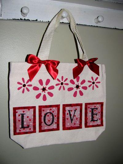 Valentine tote 1