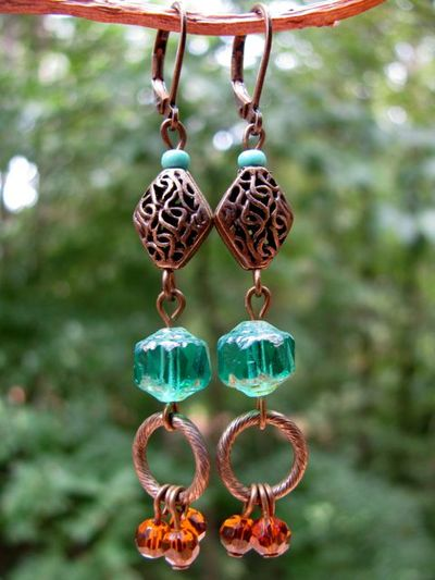 Beads Earrings 1