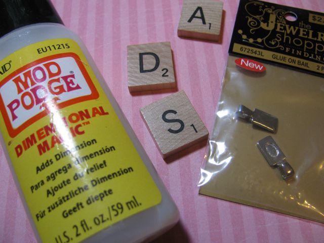 Scrabble Tile Tutorial 1
