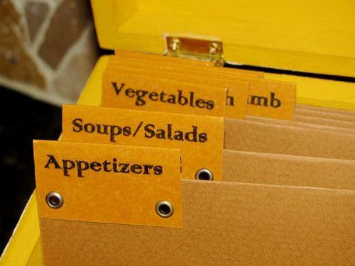 Recipe box 3