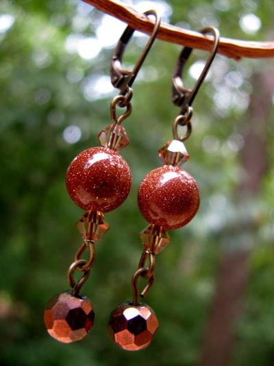 Beads earrings 2