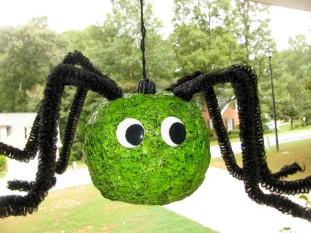 Green Spider Pumpkin
