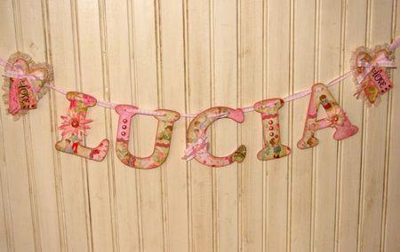 Name Banner Lucia 5
