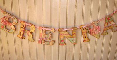 Name Banner Brenna 4