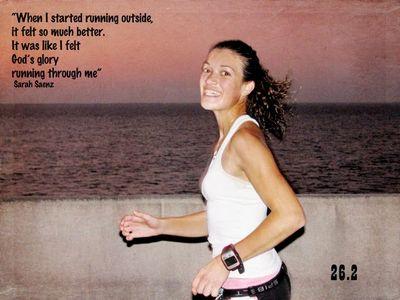Sarah running