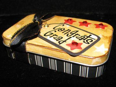 Grad gift card holder