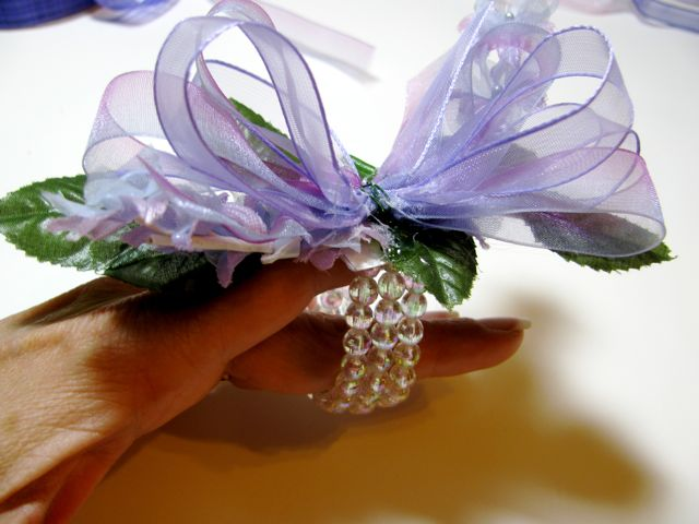 Easy wrist corsage tutorial a creative life corsage 6 mightylinksfo Choice Image