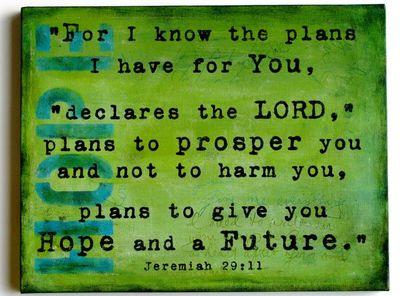 Jeremiah 29,Green