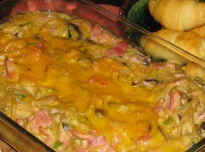 Ham & Pasta Casserole