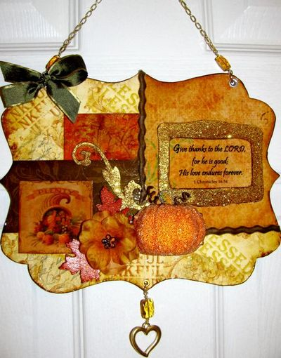 Thanksgiving Wall Hanging