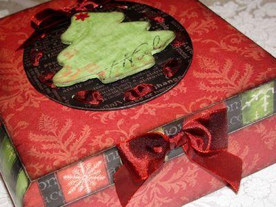 Elegant Christmas Box.