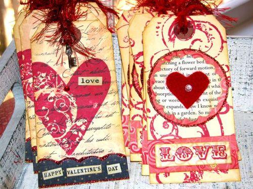 Valentine Tags.