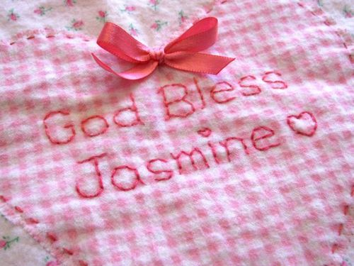 Jasmine Prayer Blanket .