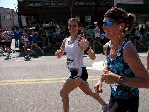 Boston Marathon Sarah