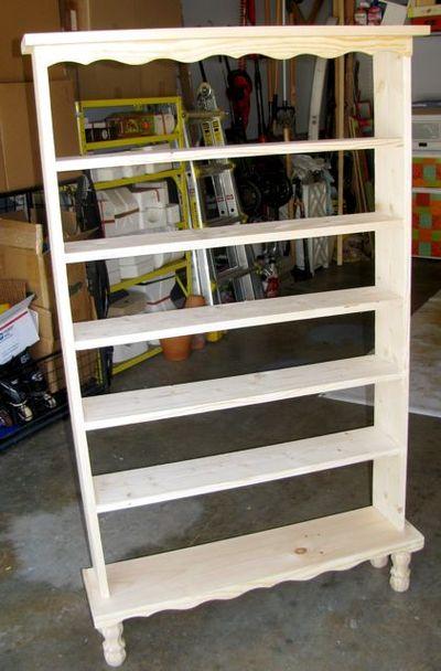 Paint Shelf Unfinished