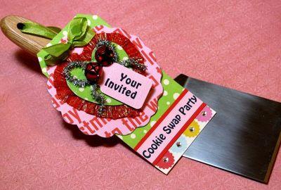 Cookie Swap Invitation.