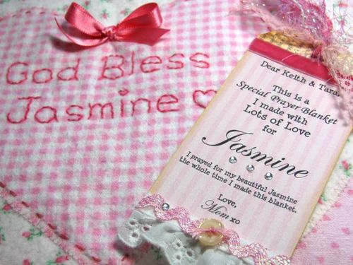 Jasmine Prayer Blanket w:tag