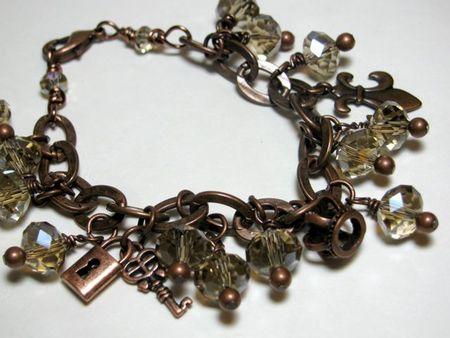 Boston Trip charm bracelet