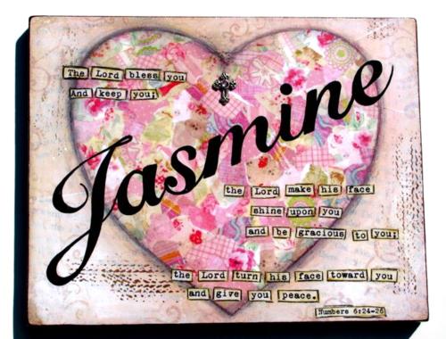 Jasmine Baptism