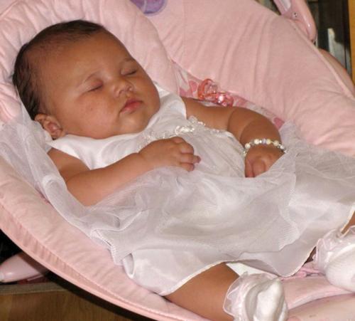 Jasmine Baptism..