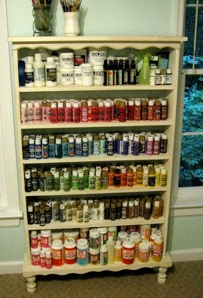 Paint Shelf loaded