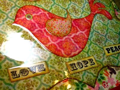 Lovebird Tray...
