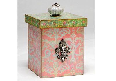 Beautiful Pearlescent Box!
