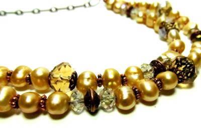 Necklace Vintage Pearl