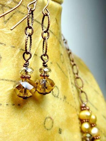 Necklace Set Vintage Pearl
