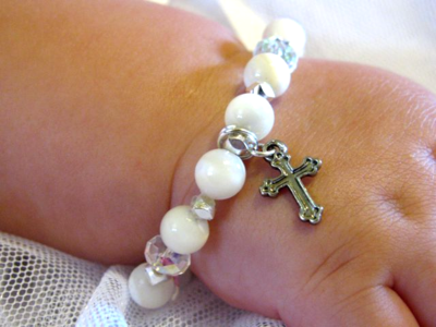 Jasmine Baptism Bracelet