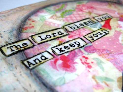 Jasmine Heart Print.....