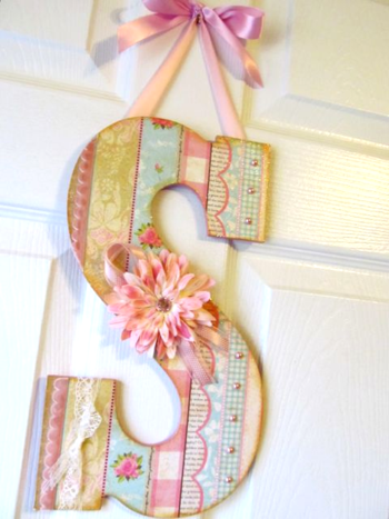 Wall Letter Decor..