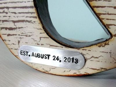 Wedding Letter set - Date tag